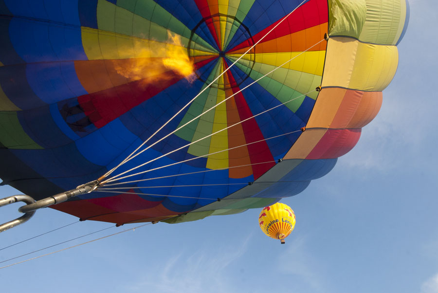 mondial air ballon de Chamblay