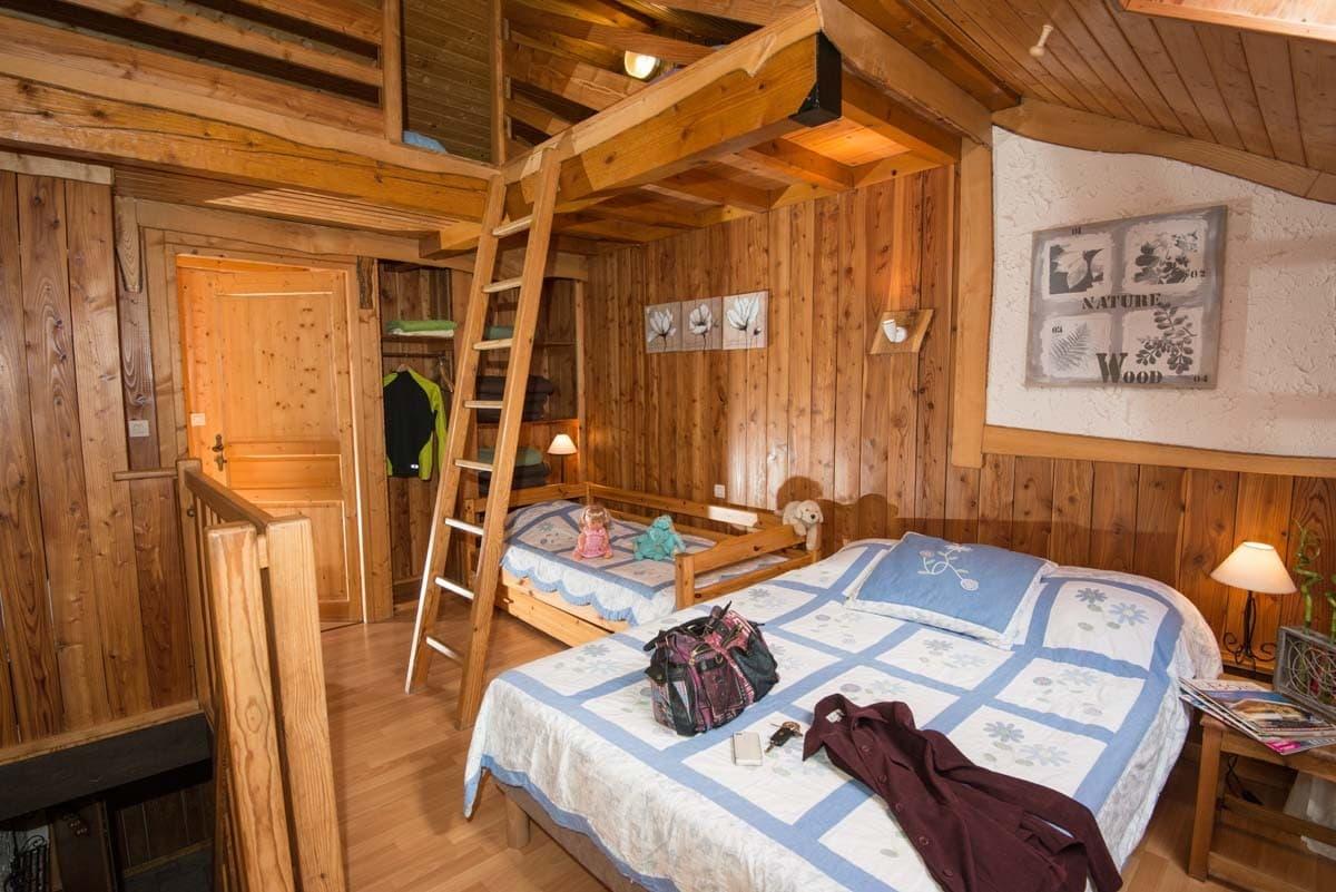 Cuisine style chalet montagne for Deco chambre chalet montagne