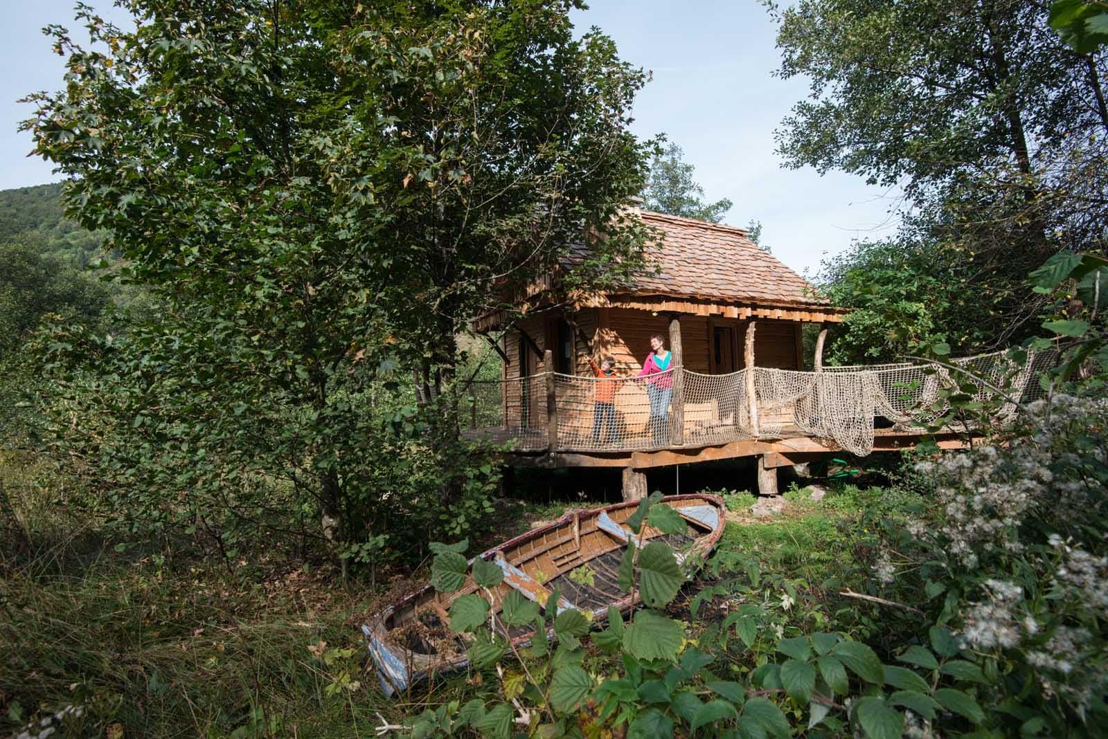 Diaporama - Nuits insolites cabane en bois montagne ...